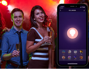 Create scenes megapixall smart light bulb