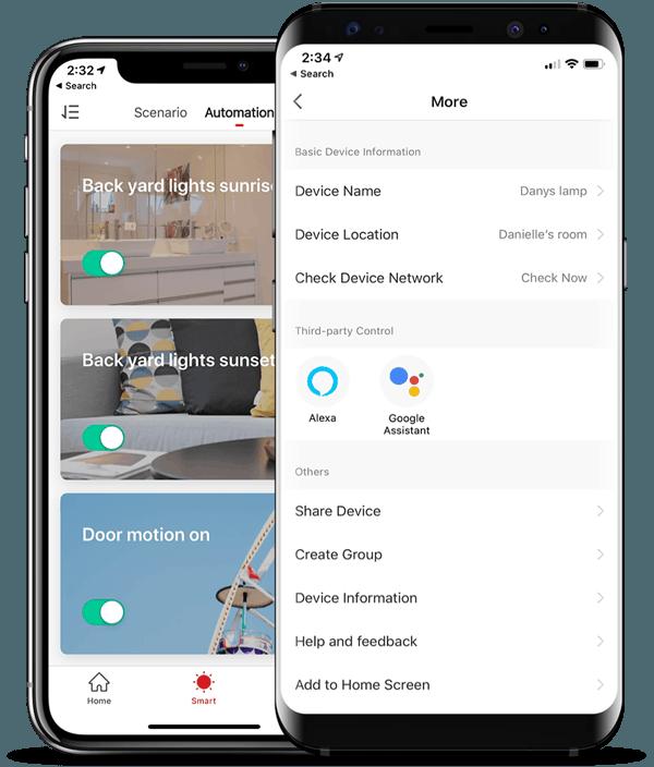 ECL-SM300 megapixall Alexa-Google-mobile app