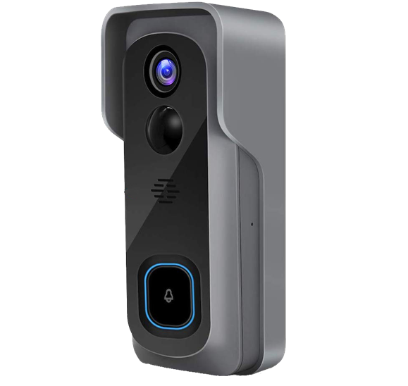 megapixall video doorbell side