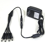 12V DC 2000MA 4 camera easy plug in power supply