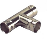BNC 3 way connector, F/F/F (Single)