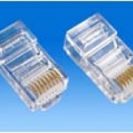 RJ45 Jacks for network cables, bag of 100