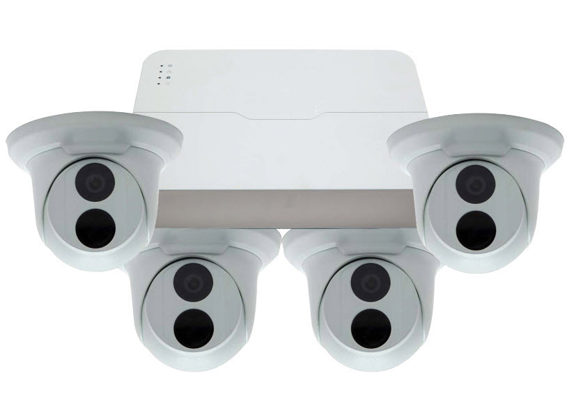 ESG-IPK8C4T 4 Camera Network IP System with 8ch NVR