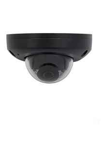 Megapixall Signature Vandal-resistant Network IR Fixed Mini Dome 4MP Black