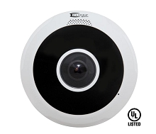 Eclipse Signature ESG-IPF812 4K Ultra HD Vandal-resistant Fisheye Fixed Dome Camera