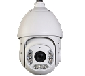 2MP IP PTZ Camera with 30x optical zoom and night vision up to 250ft.