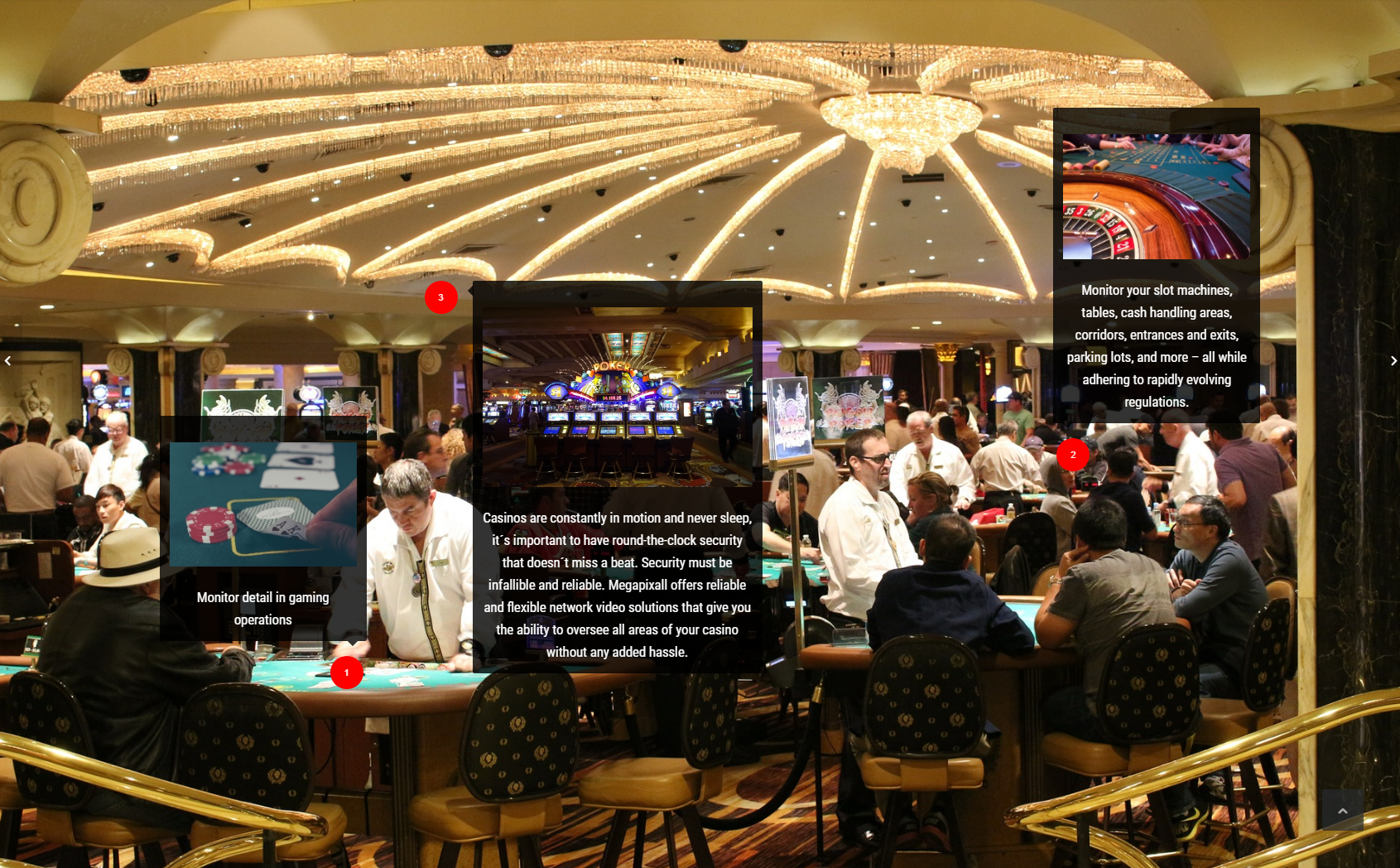 where to install casino cameras