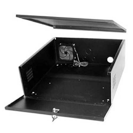 16 Gauge Large Steel Lockbox with fan