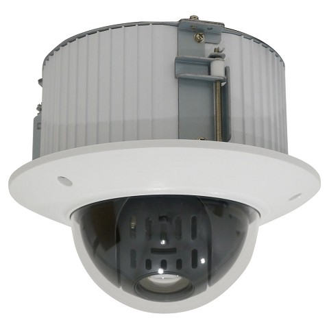 2 Megapixel IP PTZ, 12x Optical Zoom, Flush Mount