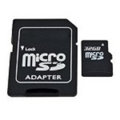 32 GB Micro SD card with SD card converter