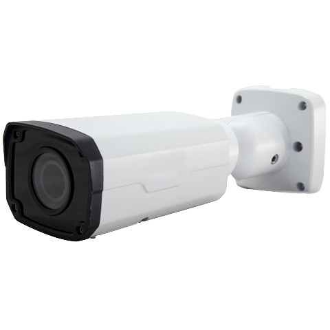 Megapixall Signature 4MP Motorized 2.8-12MM Bullet Camera with Analytics powered by Eclipse
