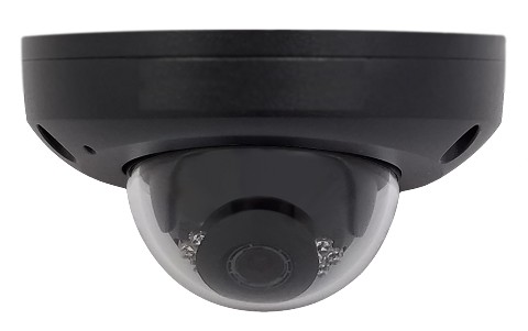 Eclipse Signature ESG-IPDW4F2 Vandal-resistant Network IR Fixed Mini Dome 4MP Black