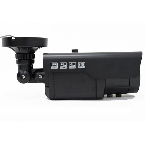 2mp HD-TVI/CVI/AHD/Analog Long Range Black Bullet